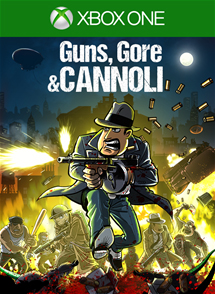 Guns, Gore and Cannoli Xbox One Box Art