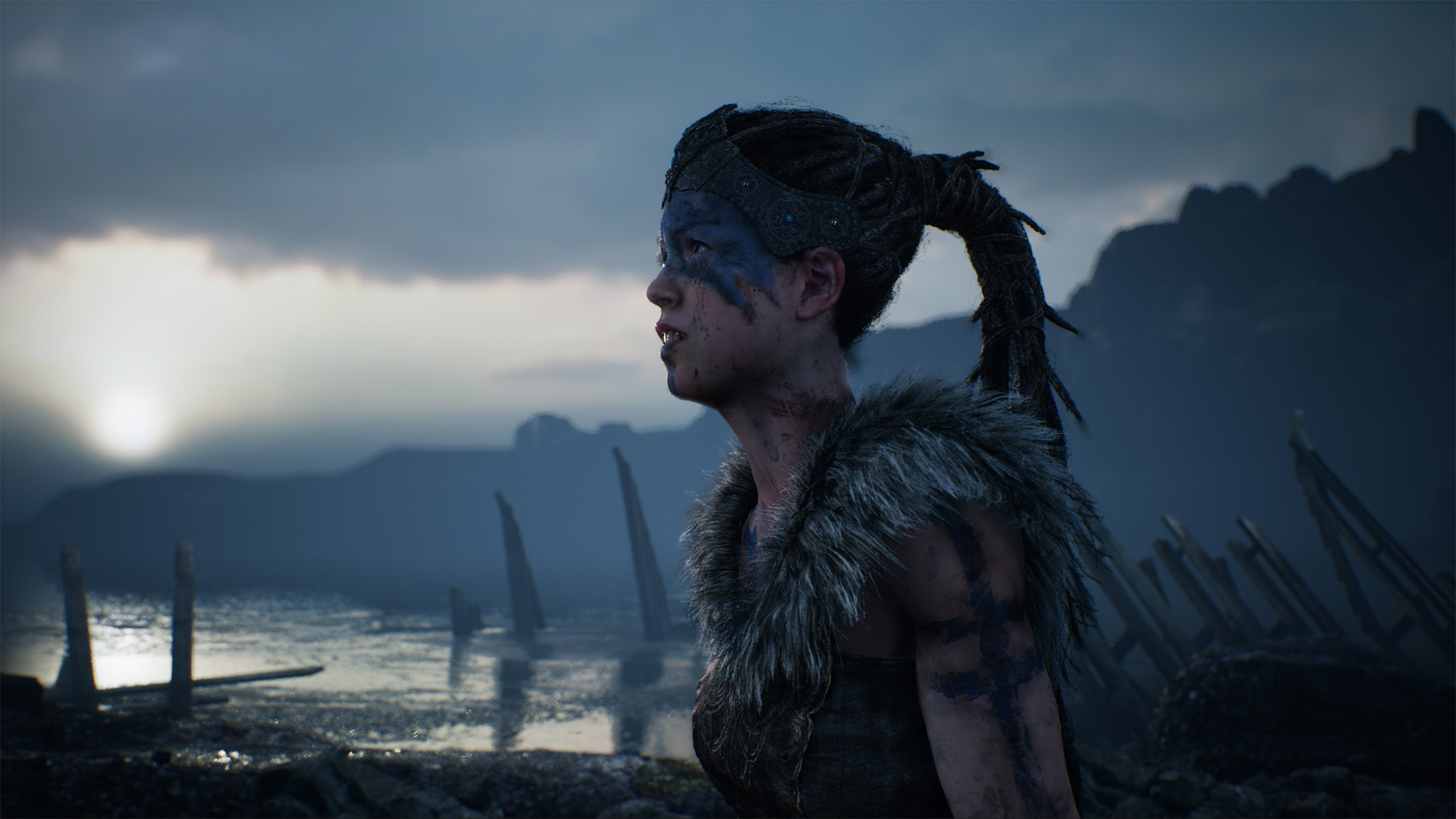 Hellblade: Senua's Sacrifice Review Xbox Wallpaper Screenshot