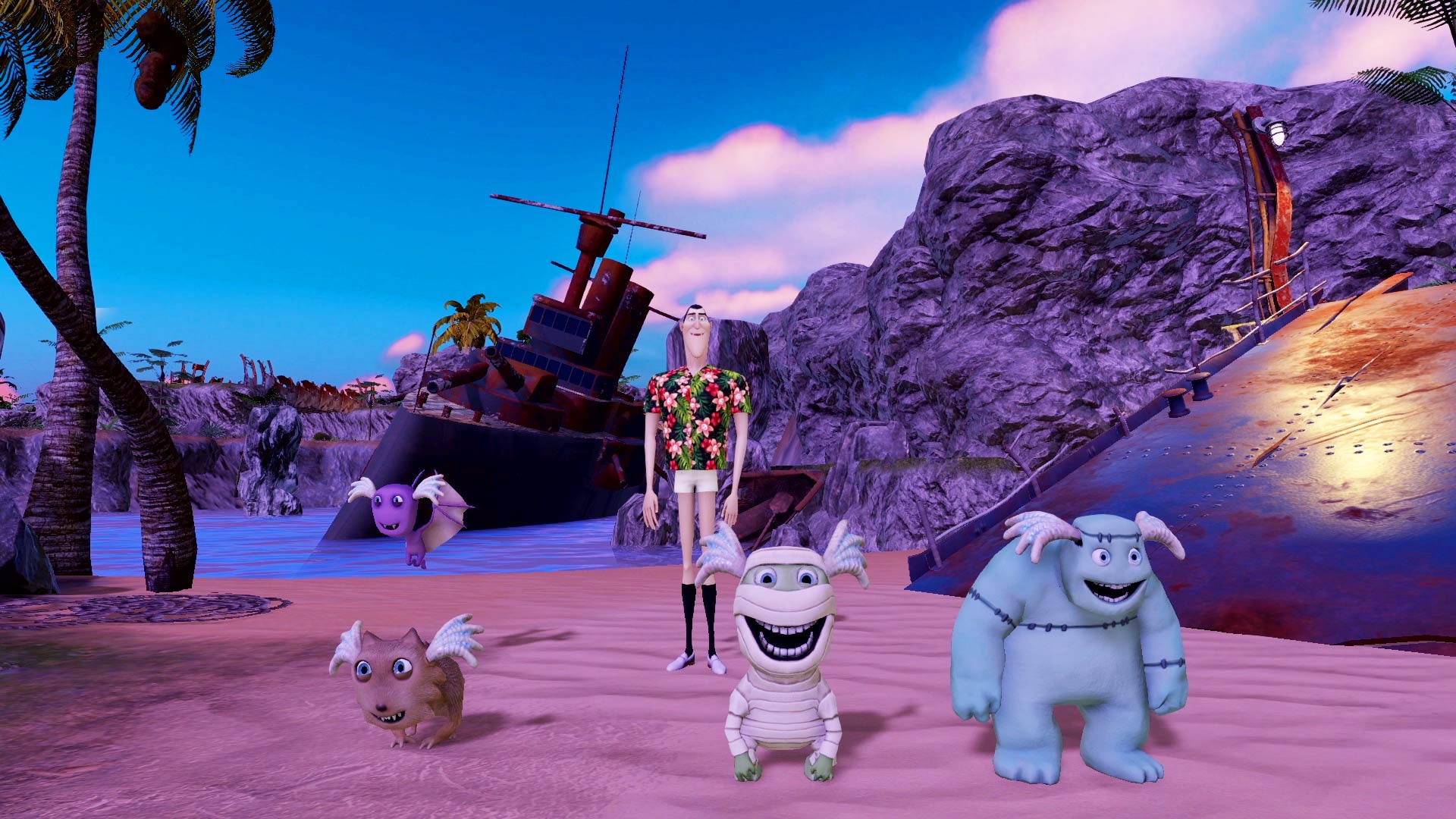Hotel Transylvania 3 Monsters Overboard Review Xbox Wallpaper Screenshot