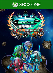 In Space We Brawl: Full Arsenal Edition Xbox One Box Art