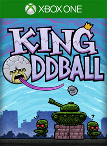 King Oddball Xbox One Box Art