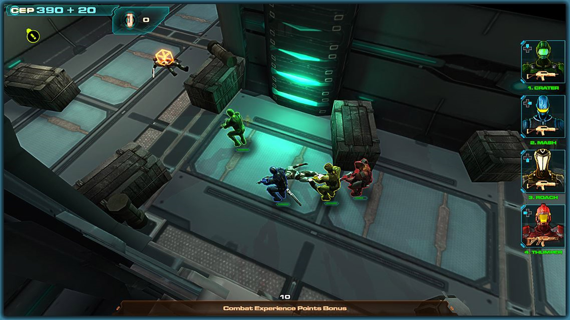 Line of Defense Tactics Xbox One Screenshot