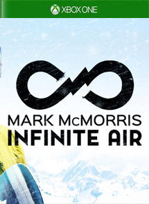 Mark McMorris Infinite Air Xbox One Box Art