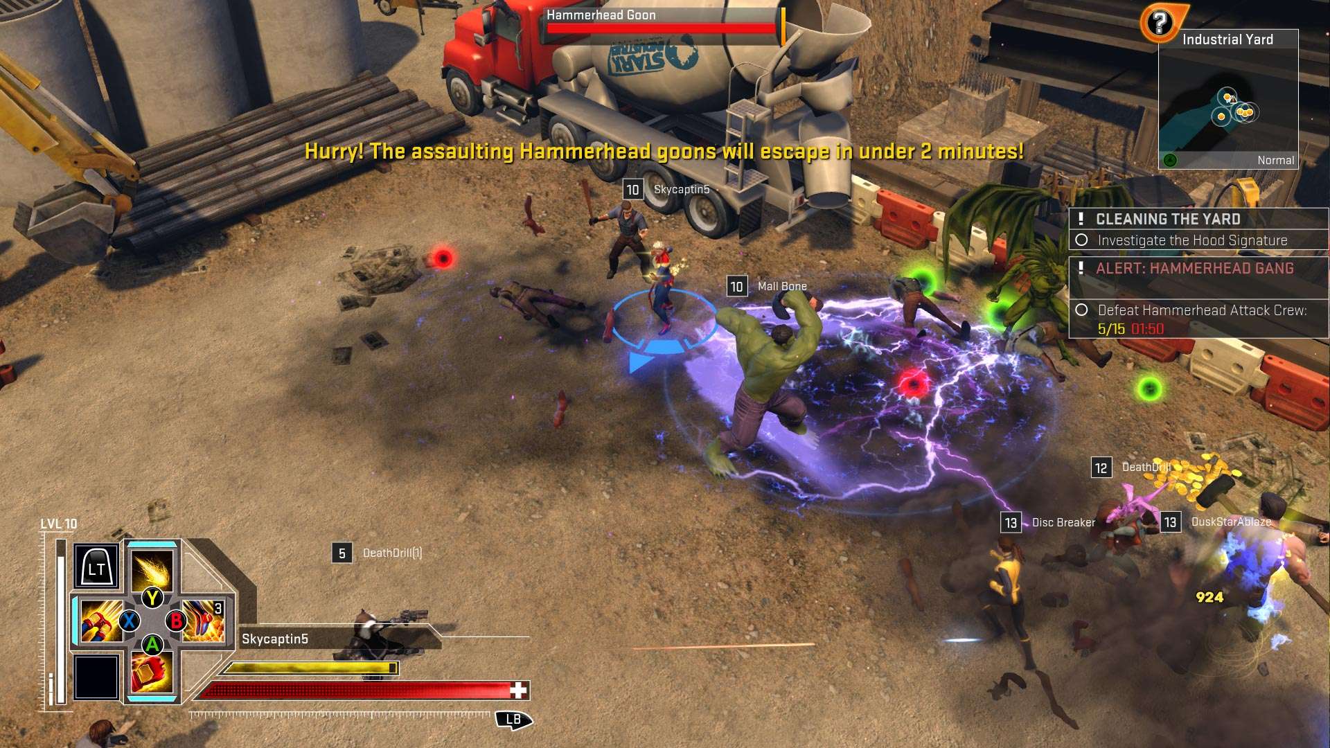 Marvel Heroes Omega Heroes Screenshot