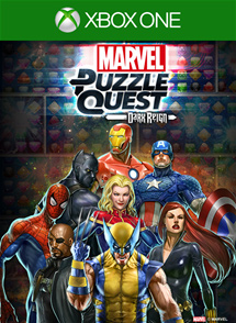 Marvel Puzzle Quest: Dark Reign Xbox One Box Art