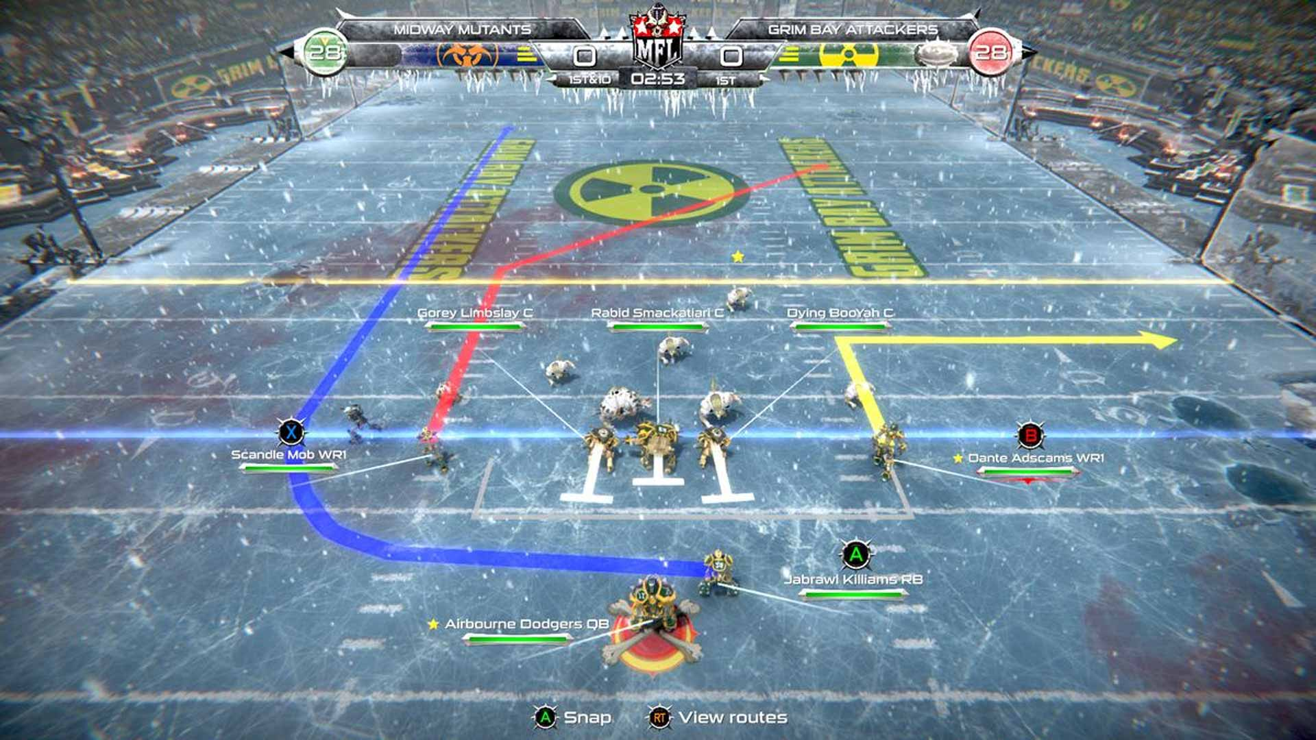 Mutant Football League: Dynasty Edition Review Xbox Wallpaper Screenshot