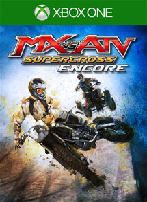MX vs ATV Supercross Encore Xbox One Box Art