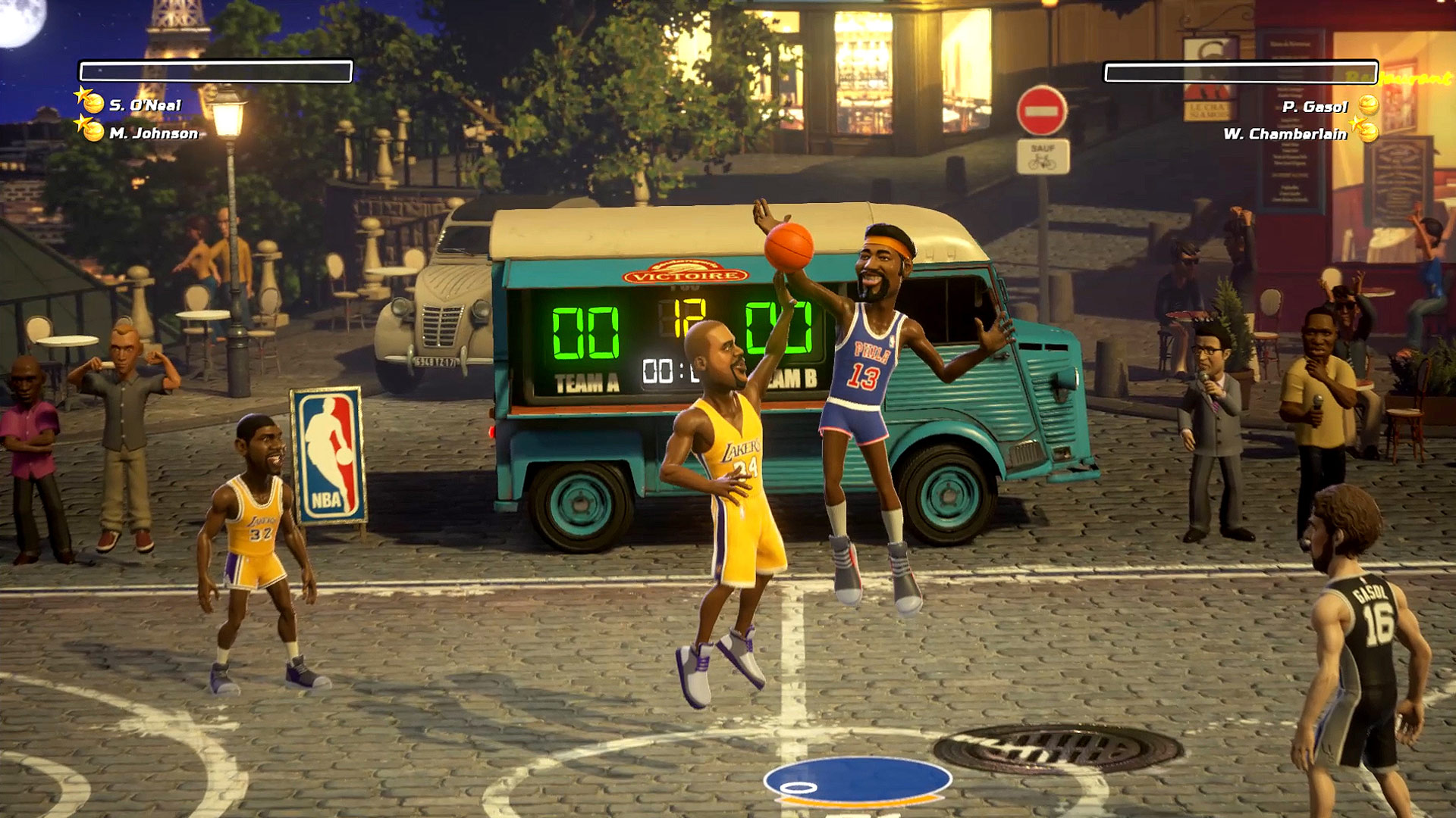 NBA Playgrounds Screenshot Paris