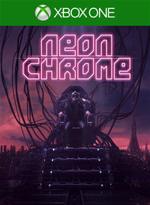 Neon Chrome Xbox One Box Art
