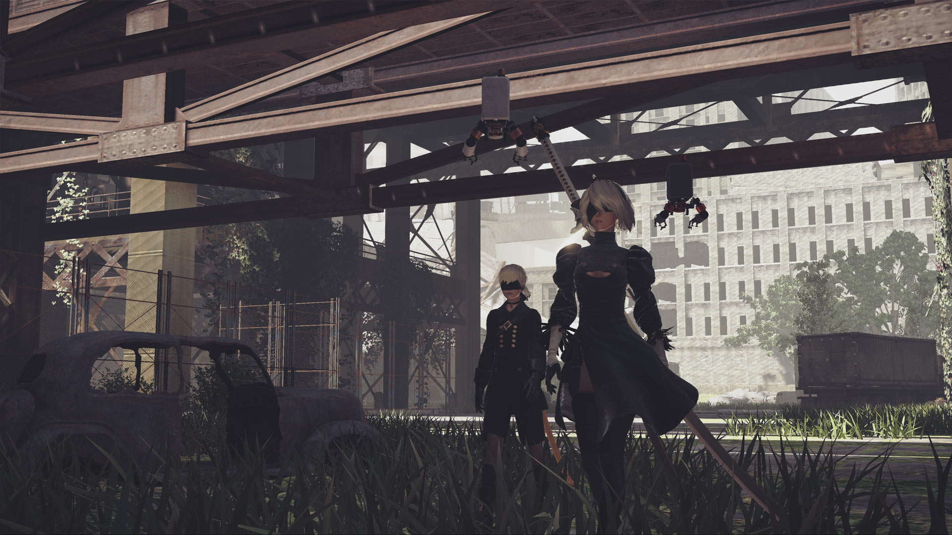 NieR:Automata: BECOME AS GODS Edition Review Xbox Wallpaper Screenshot