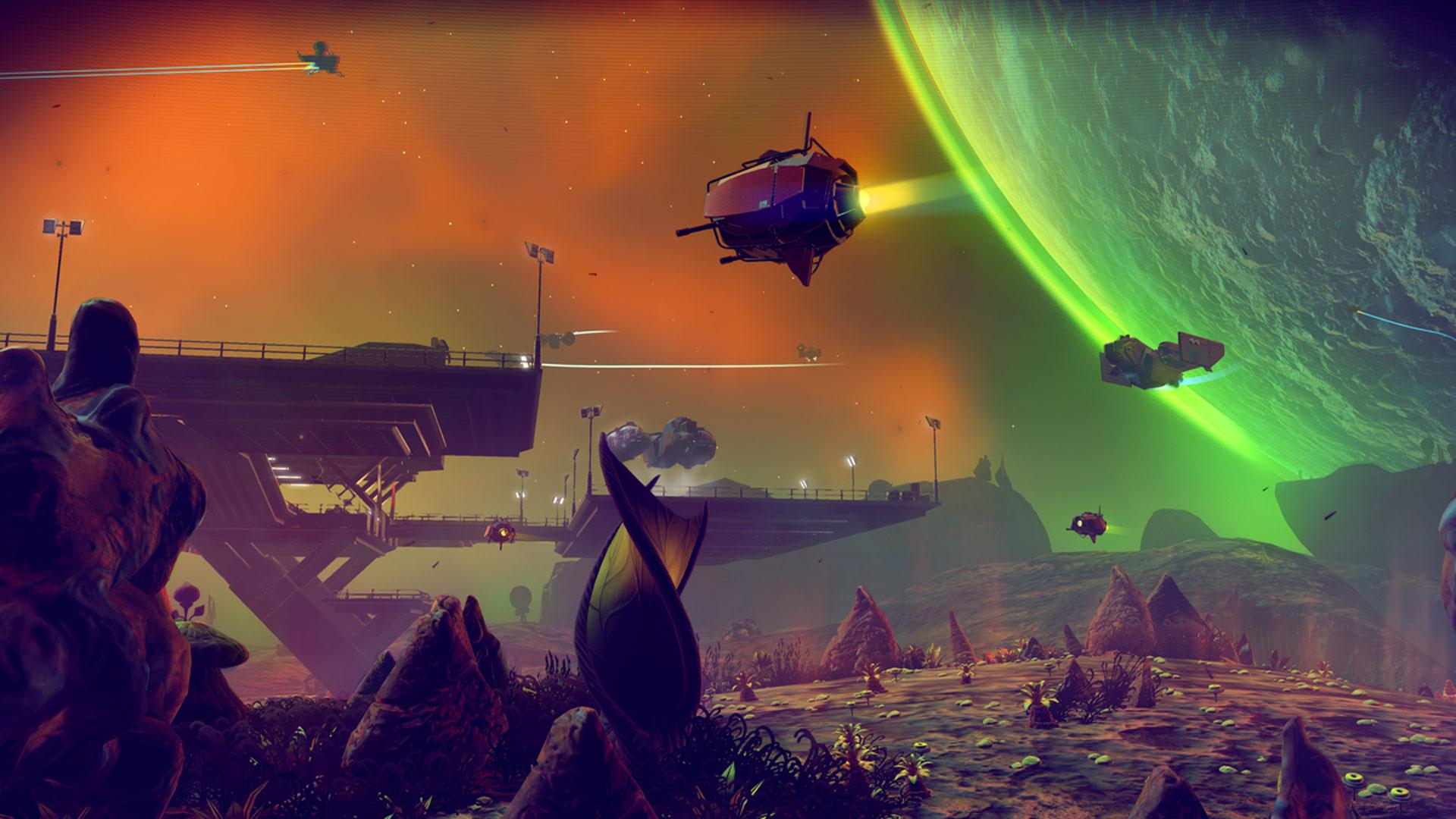 No Man's Sky Xbox Screenshot