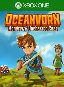 Oceanhorn: Monster of Uncharted Seas Xbox One Box Art