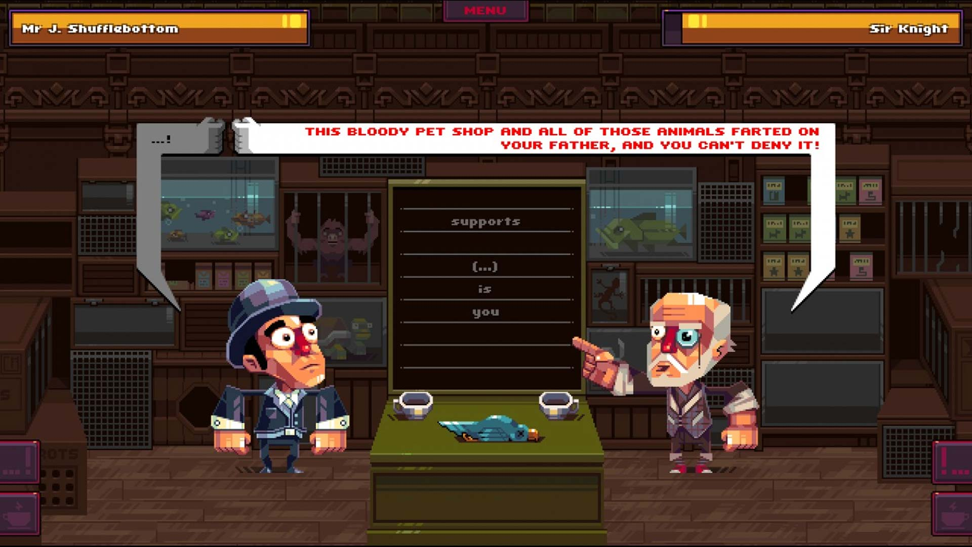 Oh...Sir! The Insult Simulator Xbox Wallpaper Screenshot