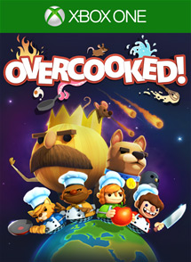 Overcooked Xbox One Box Art