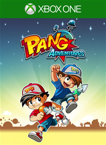 Pang Adventures Xbox One Box Art
