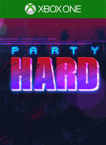 Party Hard Xbox One Box Art