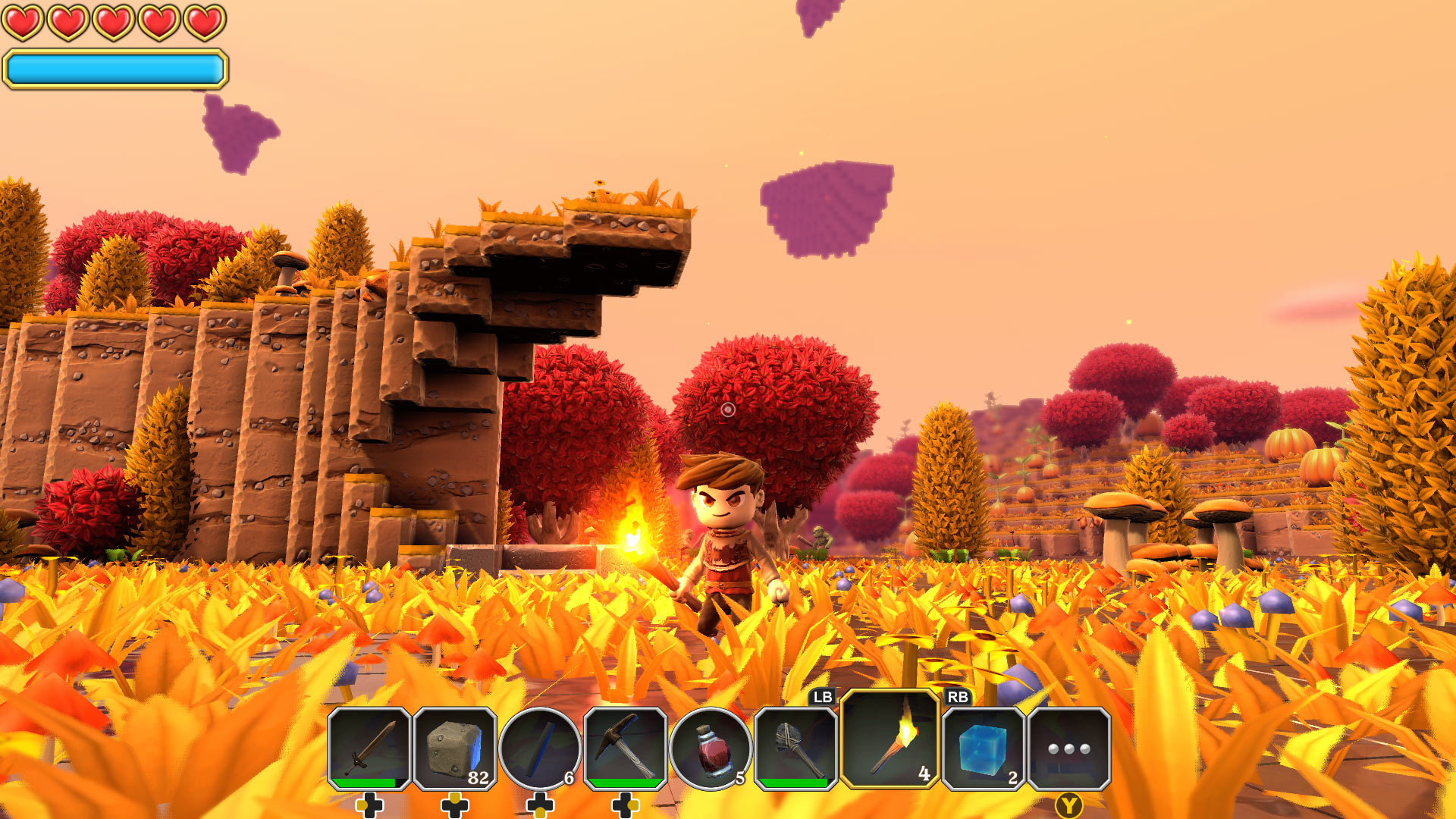 Portal Knights Screenshot Autumn