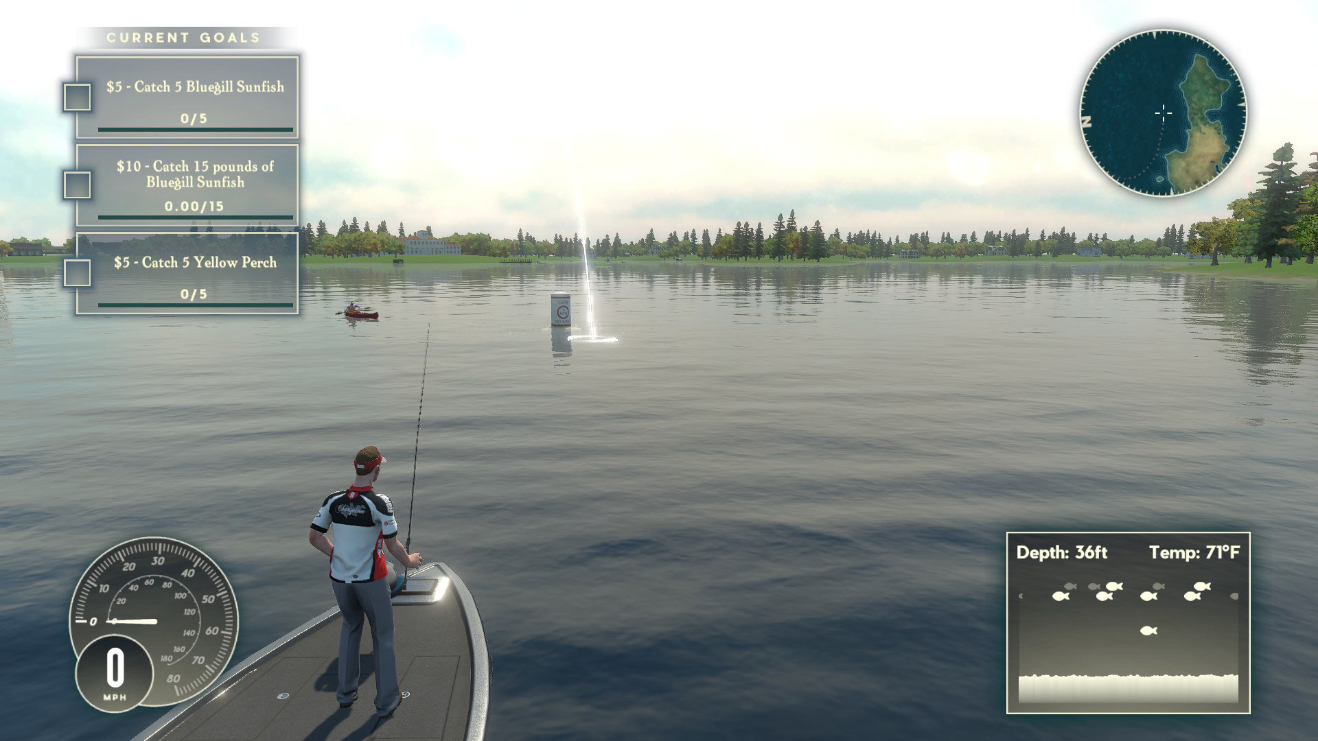 Rapala Fishing: Pro Series Xbox Wallpaper Screenshot