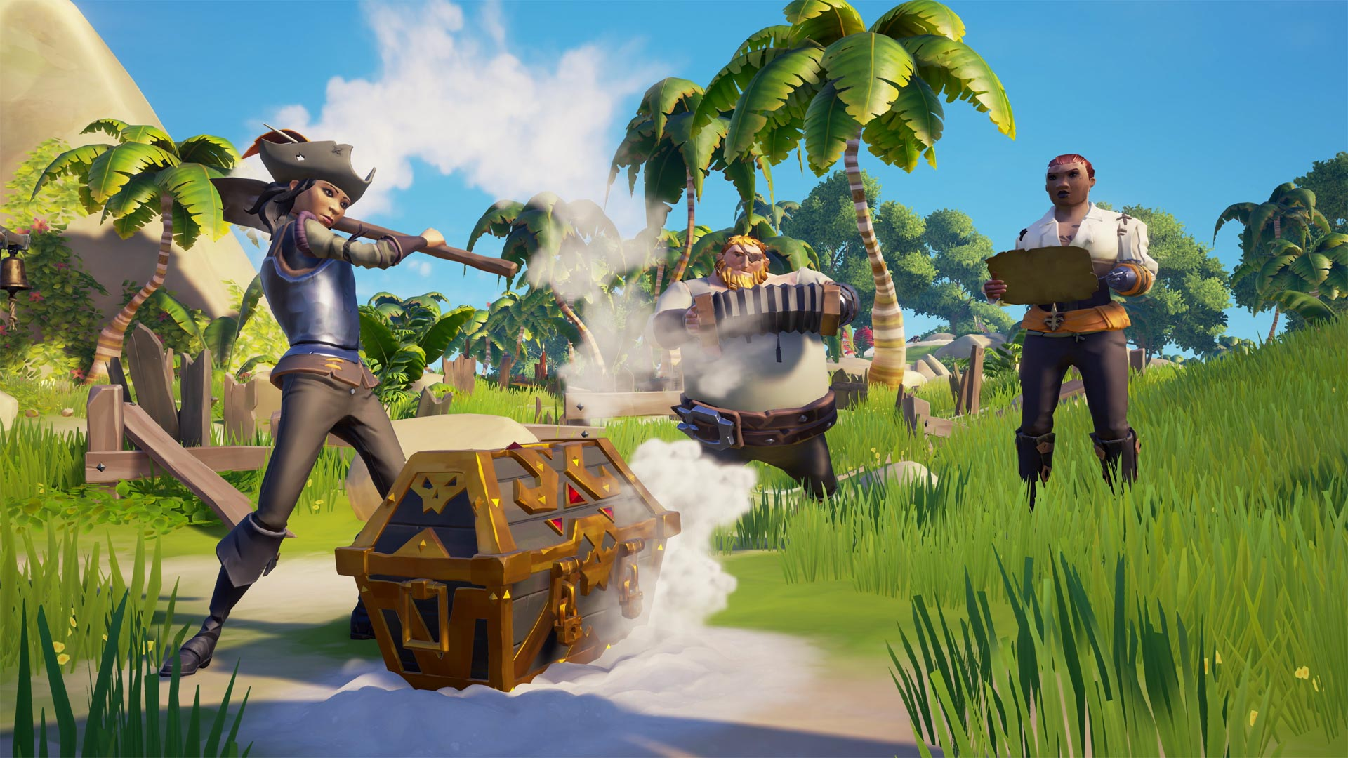 Google Assistant Sea of Thieves Screenshot