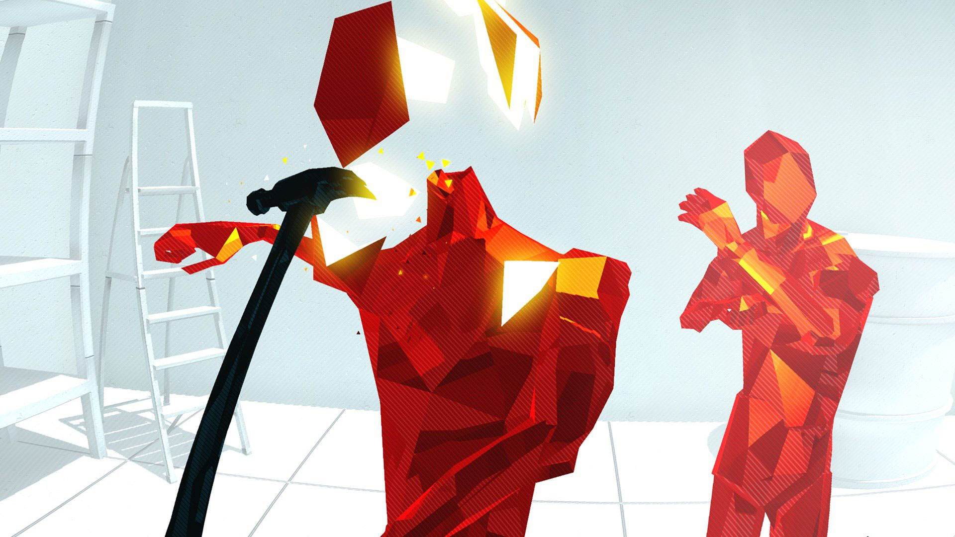 Superhot Playstation VR Screenshot