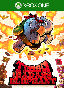 Tembo the Badass Elephant Xbox One Box Art