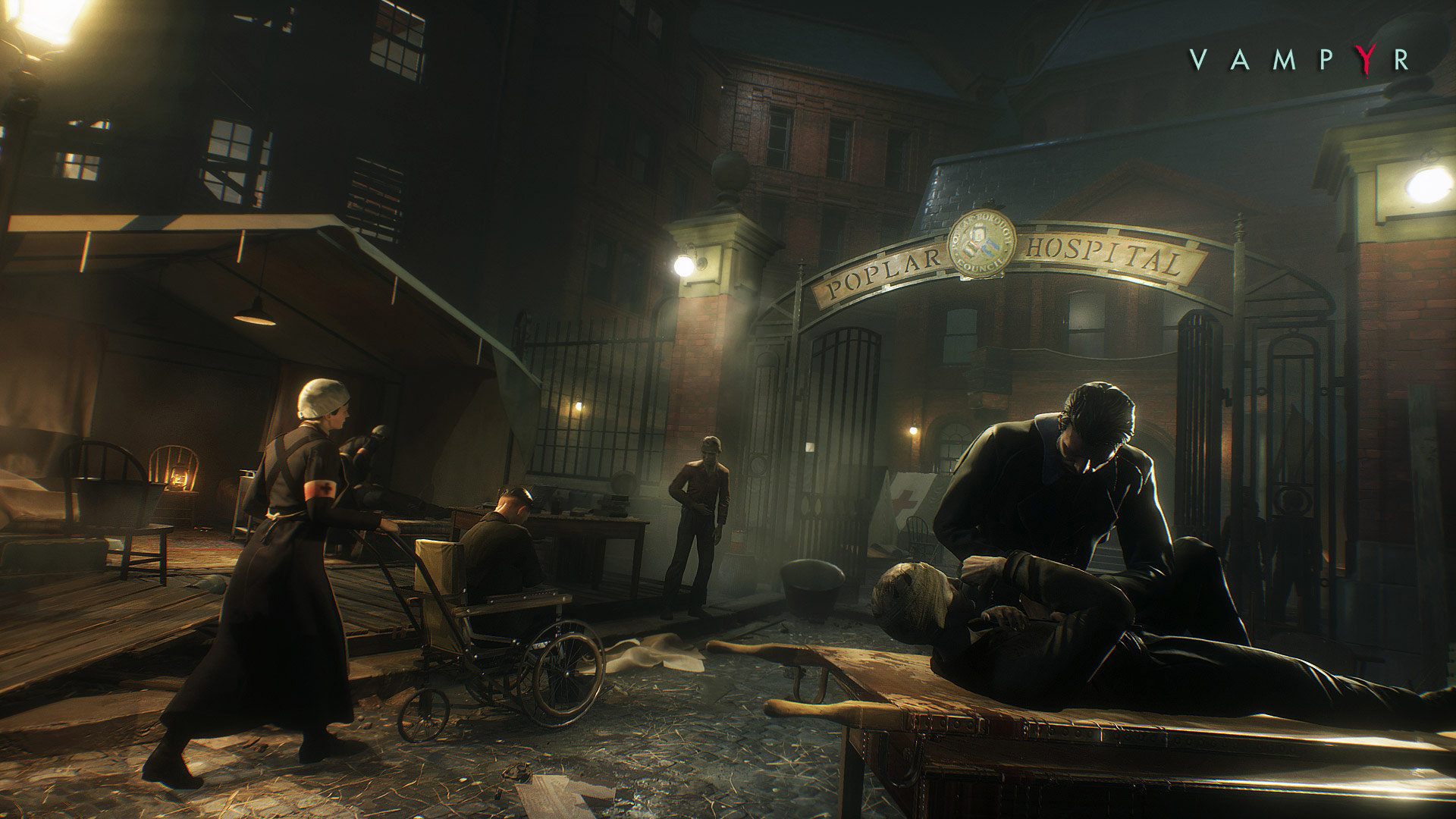 Vampyr Playstation 4 Screenshot