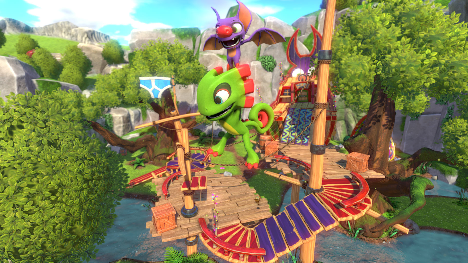 Yooka-Laylee Gliding Treehouse