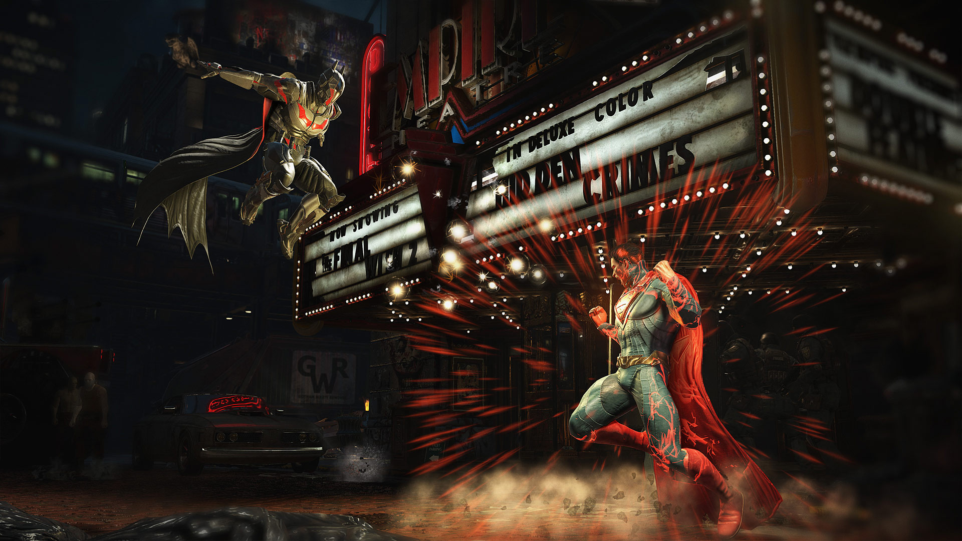Injustice 2 Screenshot Batman v Superman