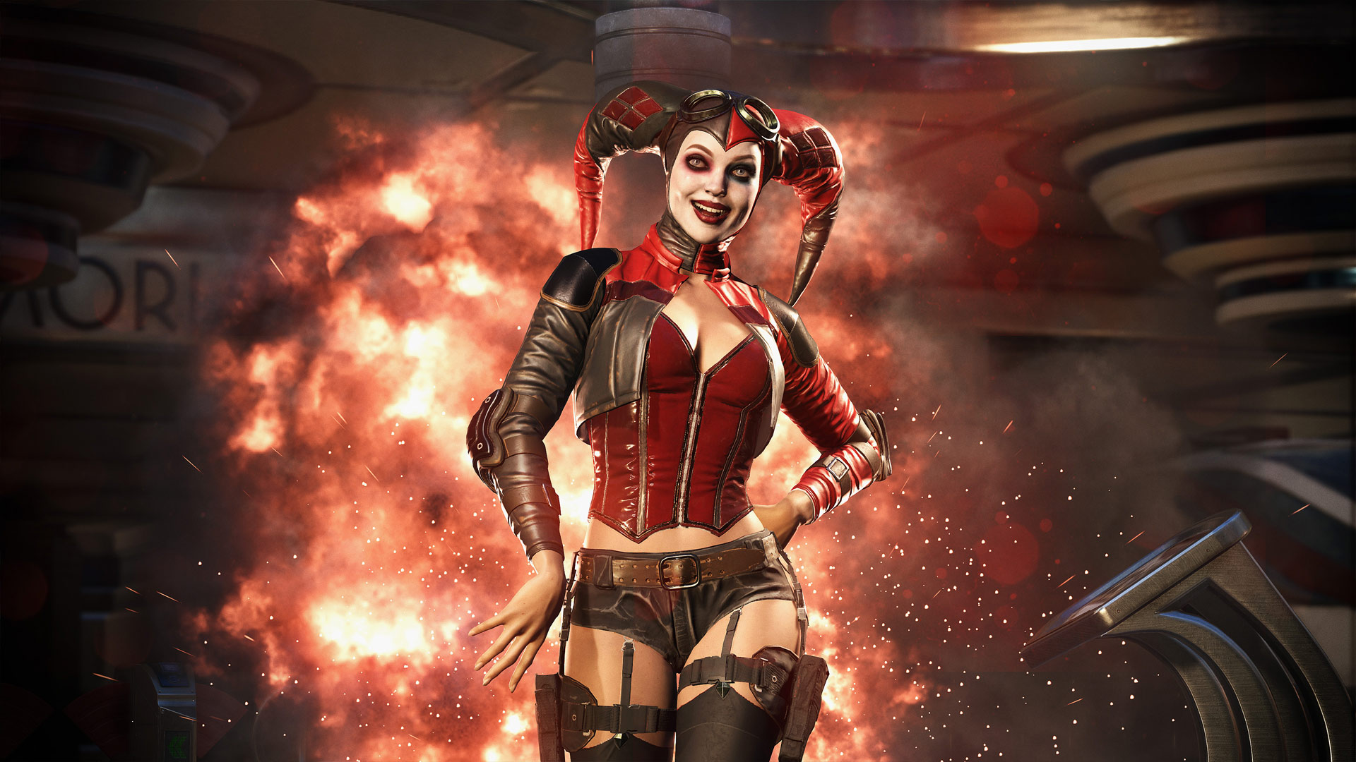 Injustice 2 Harley Quinn Wallpaper