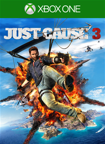 Just Cause 3 Xbox One Box Art