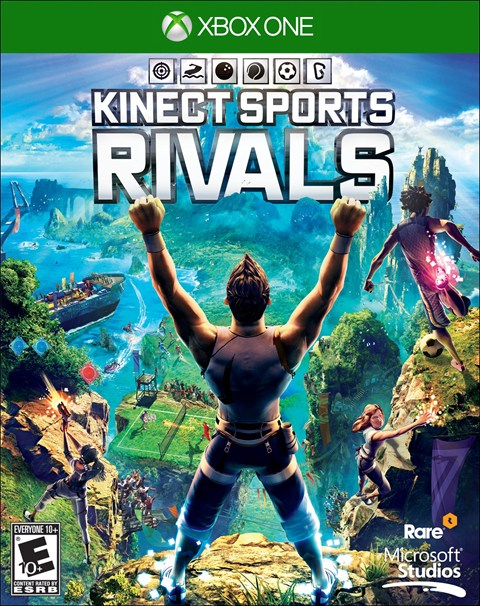 Kinect Sports Rivals Box Art