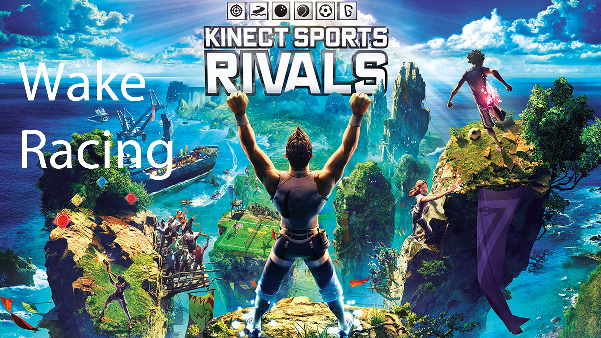 Kinect Sports Rivals Wake Racing