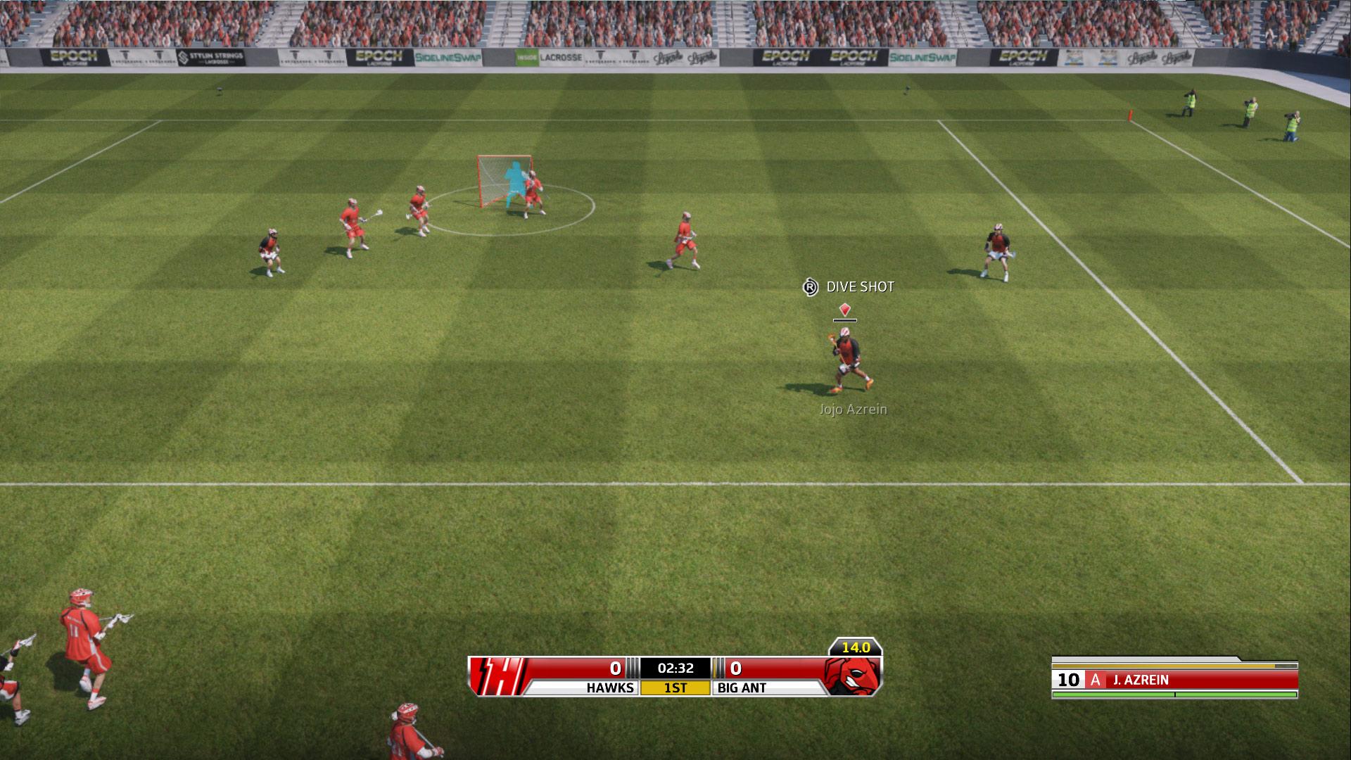 Casey Powell Lacrosse Screenshot