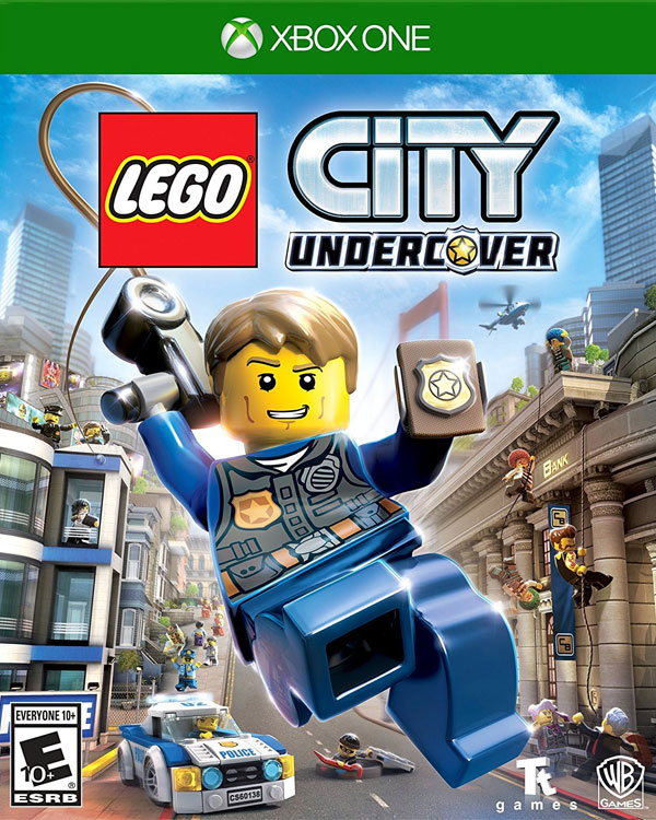 LEGO City Undercover Xbox One Box Art