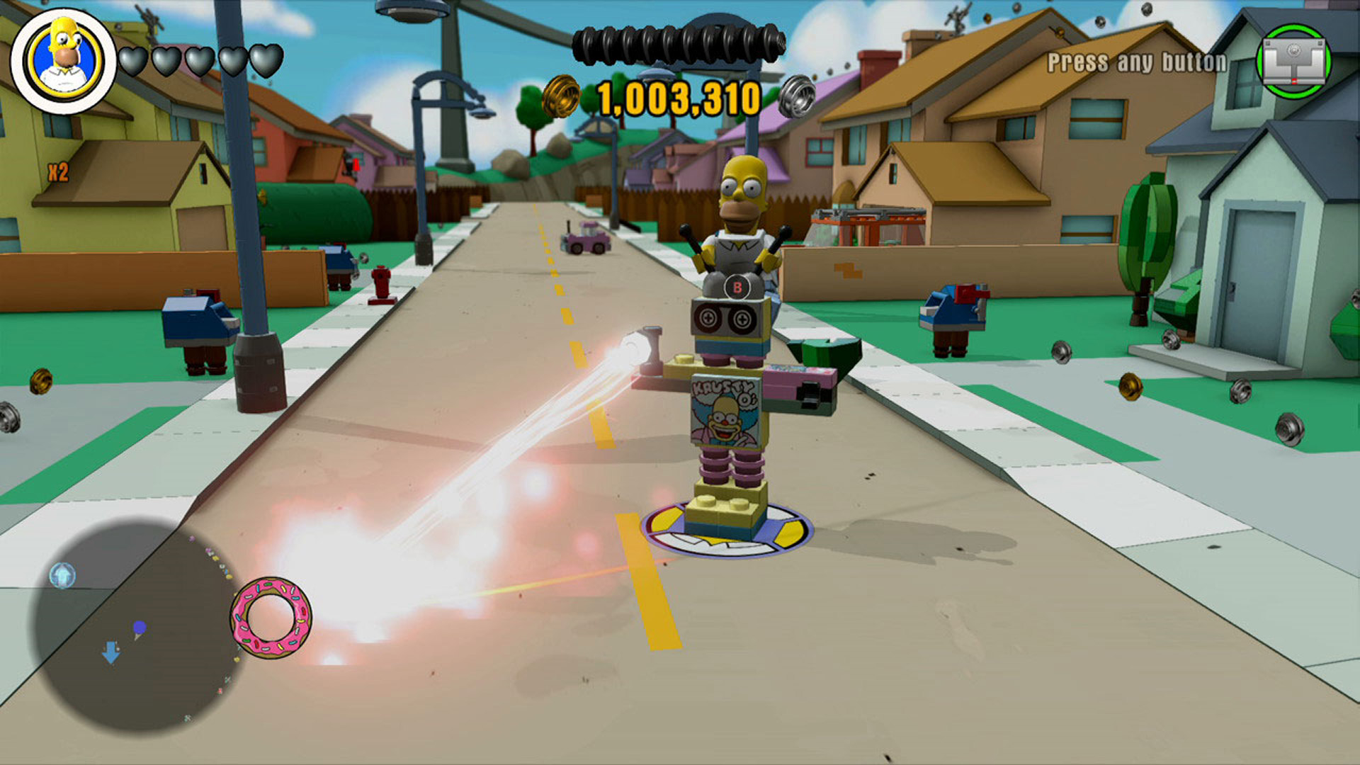 LEGO Dimensions The Simpsons Level Pack