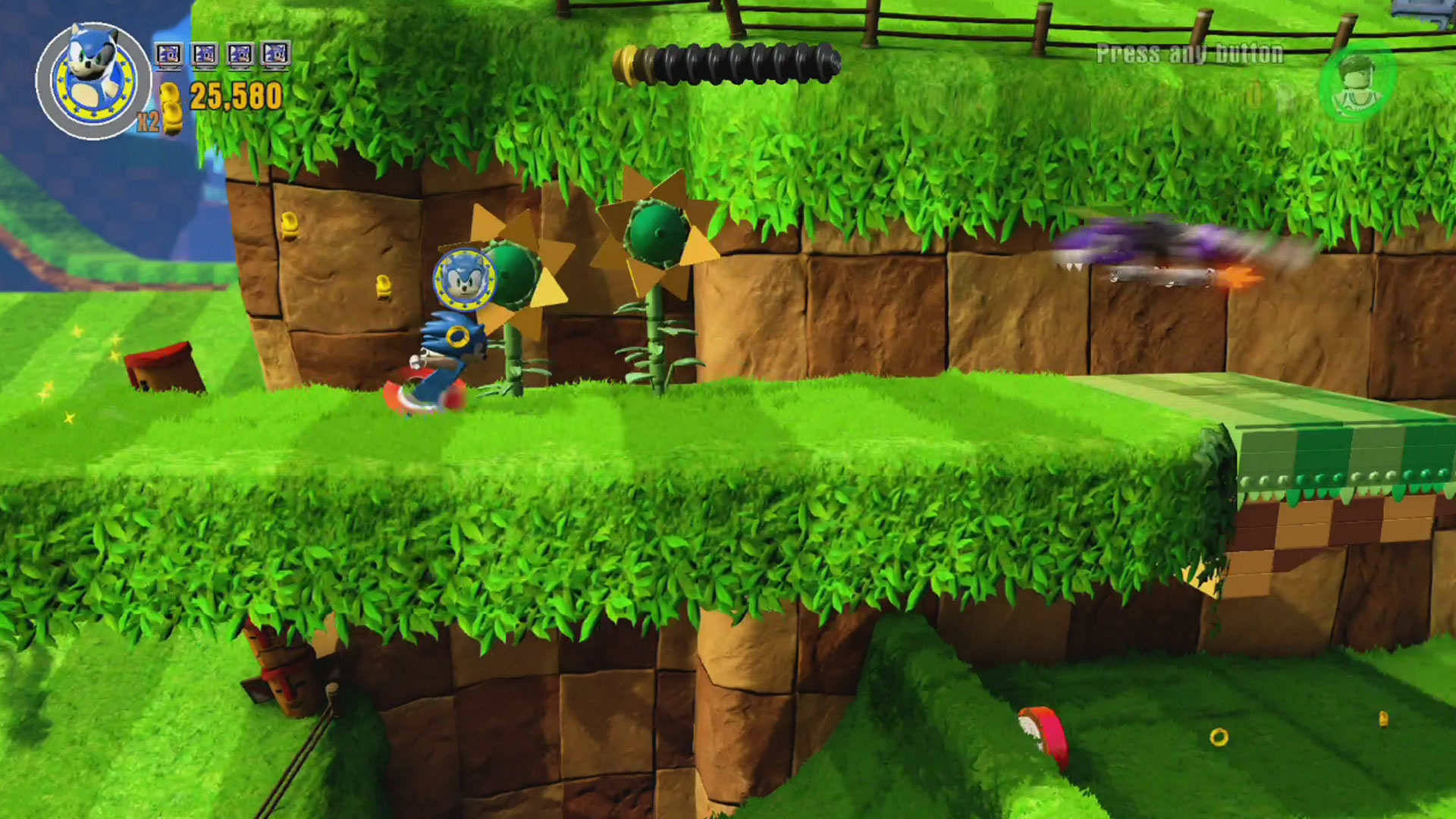 Lego Dimensions Sonic The Hedgehog Level Pack Review Gamerheadquarters