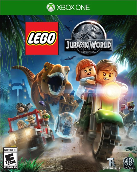 LEGO Jurassic World  Xbox One Box Art