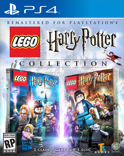 LEGO Harry Potter Collection Playstation 4 Box Art