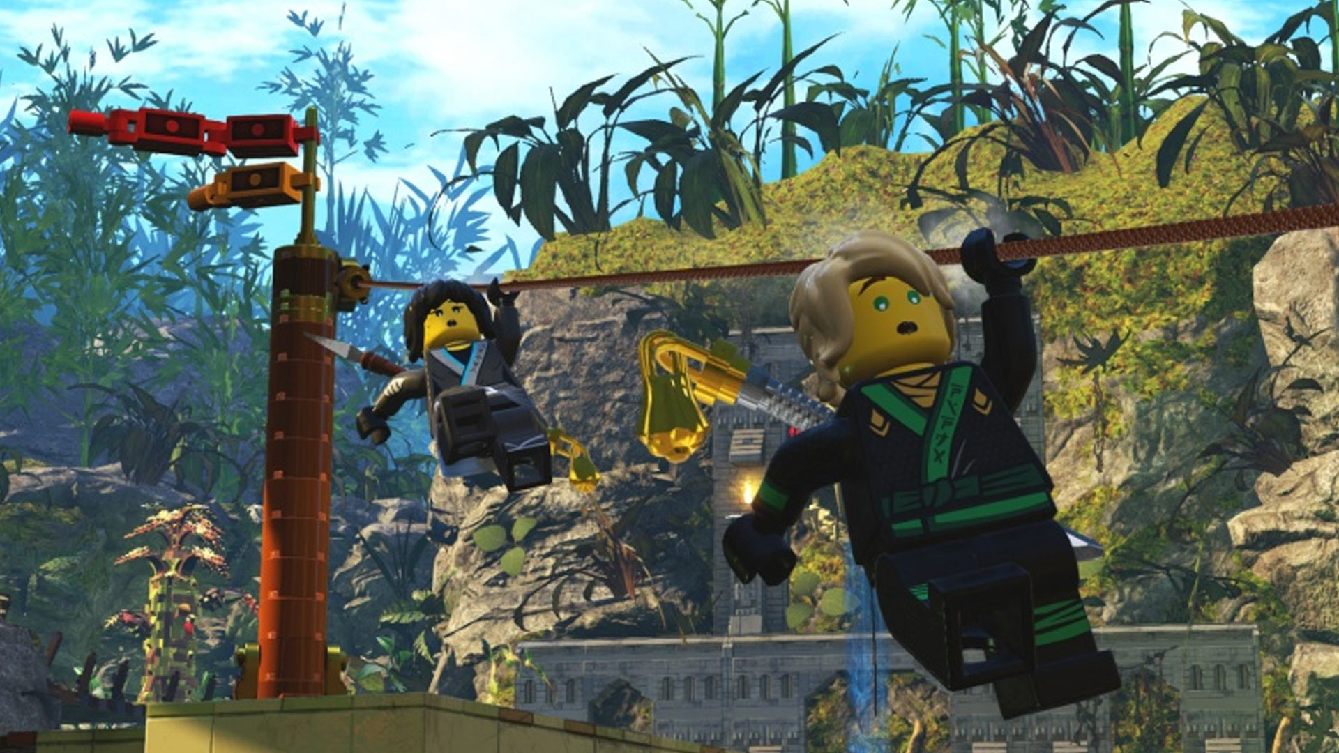 The LEGO Ninjago Movie Game Playstation Wallpaper Screenshot