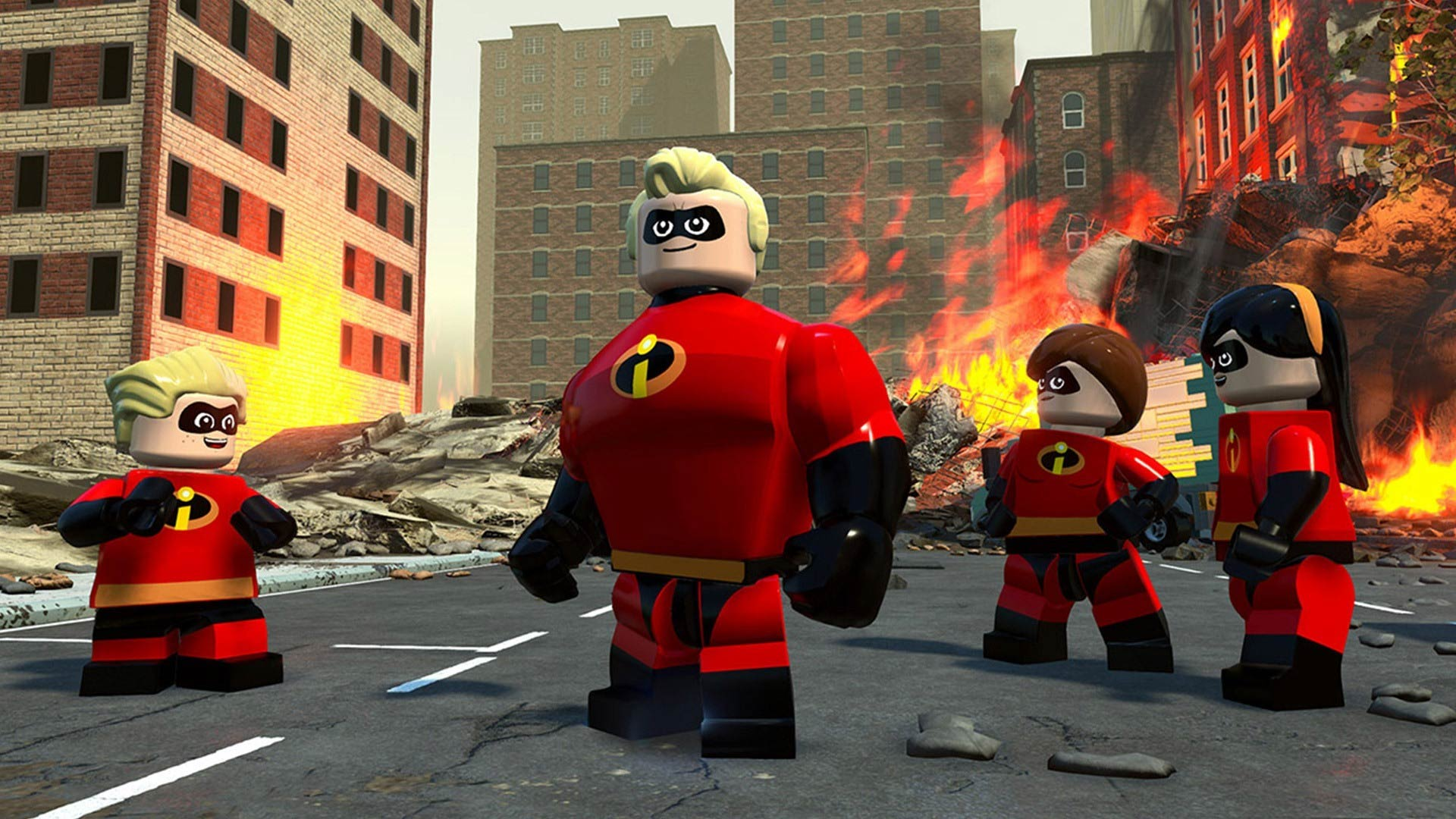 LEGO The Incredibles Install Size Screenshot