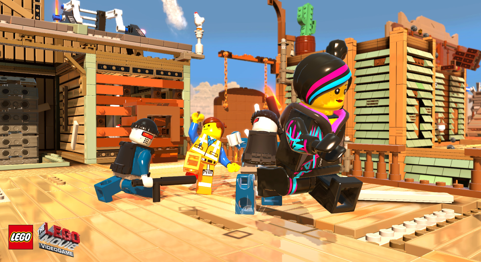 LEGO Movie Game Review Xbox Wallpaper Screenshot