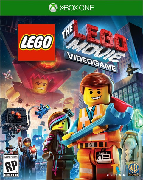 Lego Movie The Game Box Art
