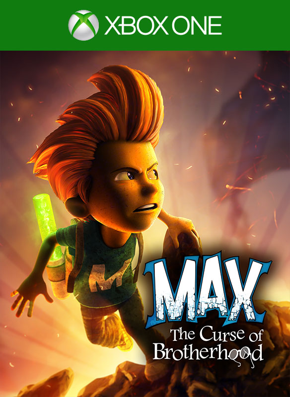 Max and the Curse of the Brotherhood Box Art