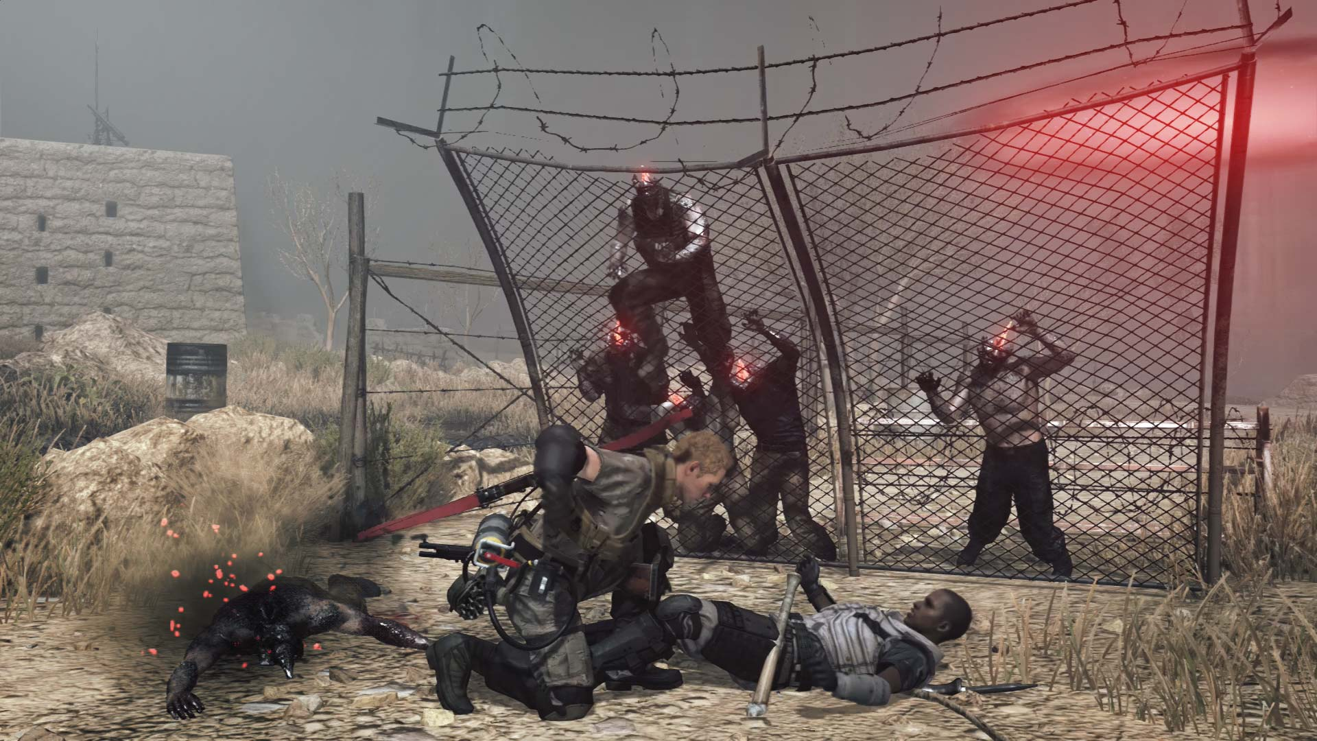 Metal Gear Survive Xbox Wallpaper Screenshot