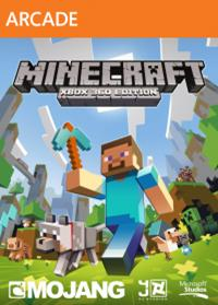 Minecraft Xbox 360 Box Art