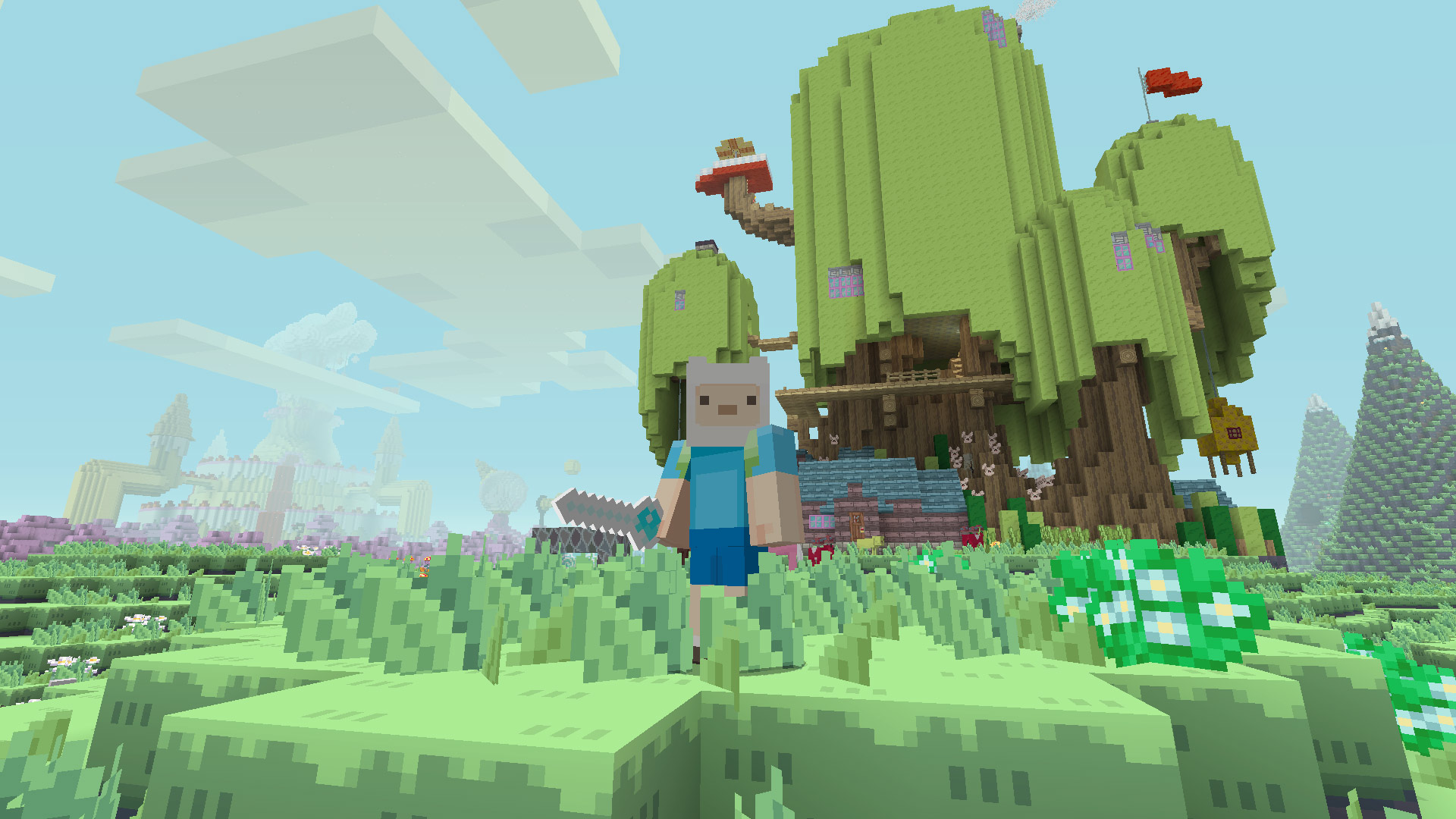Minecraft Adventure Time Mash Up Pack Review