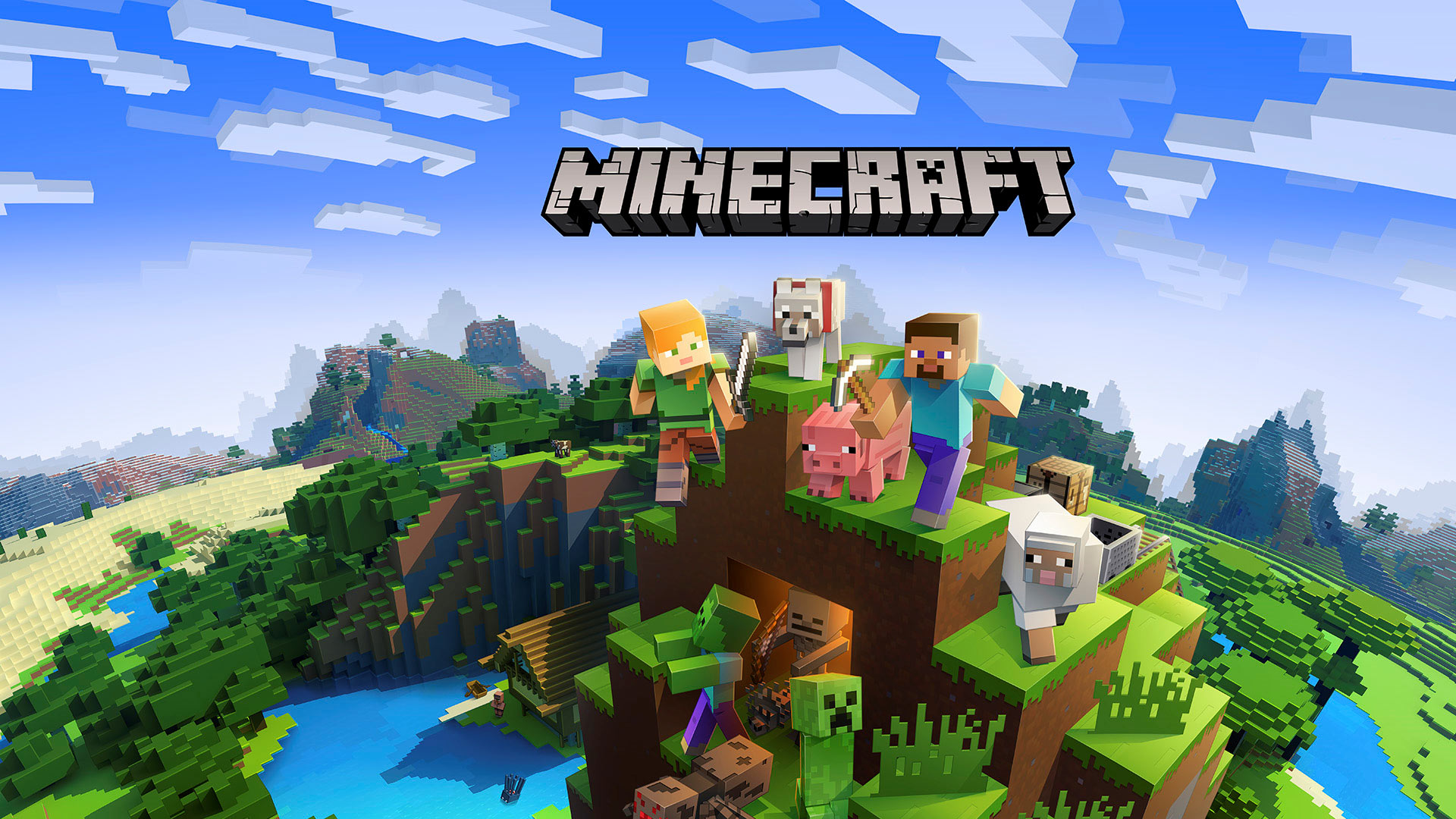 Minecraft Wallpaper Better Together
