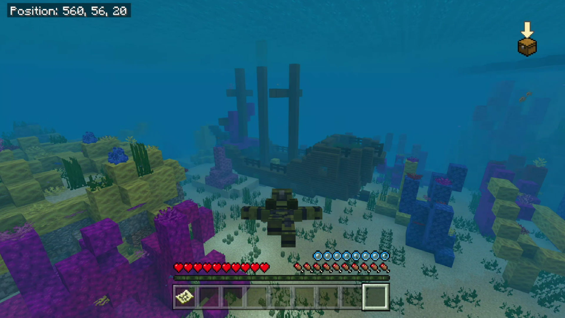 Minecraft Buried Treasure Me Gold! Achievement Guide Screenshot
