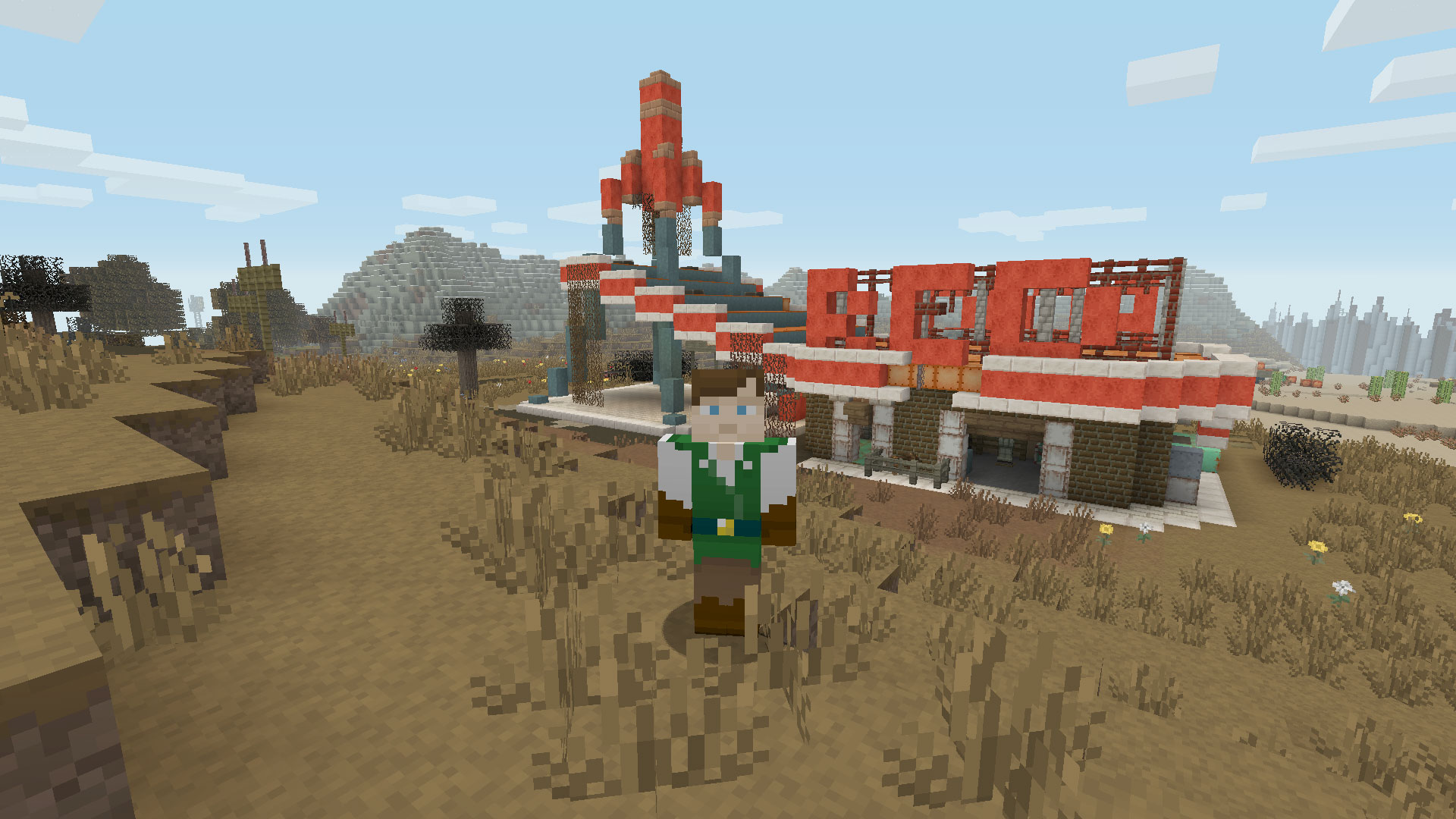 Minecraft: Fallout Mash-Up Pack Review - Gamerheadquarters