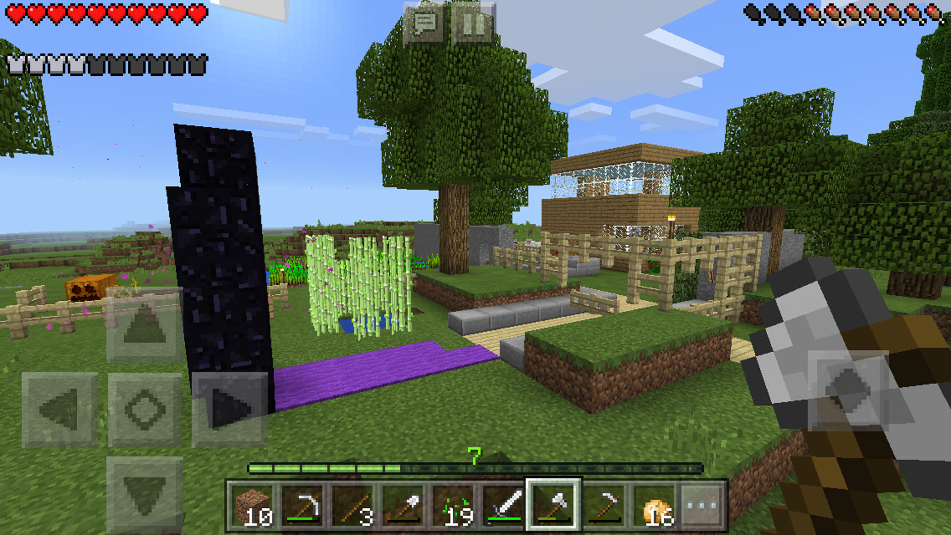 Minecraft Pocket Edition Skycaptin5 Skyland world